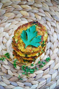 Healthy Vegan Falafel | Gourmandelle.com