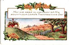 Our Lord's Thanksgiving