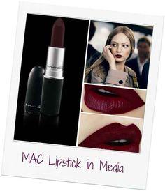 MAC Lipstick in Media Hairstylist and makeup artist! @jessiemarieward follow me on Instagram @Beauty_Babe4u