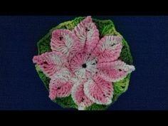 Flor em Crochê com Cristina Coelho Alves - YouTube