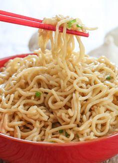 Vietnamese Garlic Butter Noodles - Kirbie's Cravings