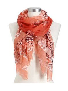 Pair this scarf with a cute dress, tights and knee-high flat boots for a look that's classic Taylor Swift.