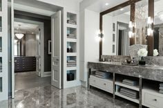 Bathroom in a home in North Toronto, Canada designed by Jay Hodgkins
