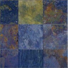 Multi Classic Tumbled Tile, Multi Classic Tumbled  6x6 Tiles