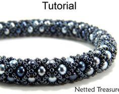 Beading Tutorial Pattern Bracelet Necklace by SimpleBeadPatterns