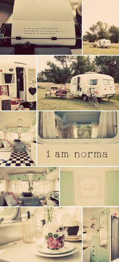 a caravan called Norma