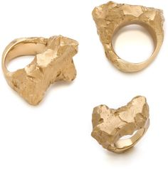 Rough Rock Ring by Maison Martin Margiela