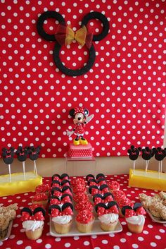 Minnie Mouse Birthday Party Ideas | Photo 2 of 15 | Catch My Party