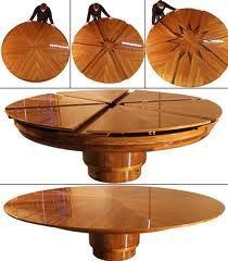 Masa rotunda extensibila...o veti adora - Construieste sanatos , cu materiale de constructii 100% naturale , ecologice