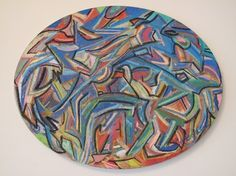 Original Artwork, Pastel, Canvas, Prints, Tela, Cake, Canvases, Crayon Art, Melting Crayons