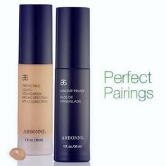 Like a marriage made in heaven ~ a beautifully light, fluffy & smoothing primer to get your skin ready set to add a touch of moisturising luxury perfecting foundation = The ultimate marriage!!!!   www.charlottepartridge.arbonne.com