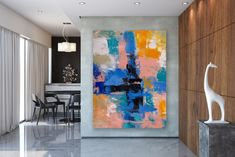 """Find out additional information on """"modern abstract art face"""". Take a look at our site. Large Artwork, Large Painting, Large Wall Art, Large Canvas, Canvas Art, Original Paintings, Art Paintings, Painting Art, Abstract Paintings"""