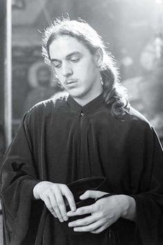 Young Orthodox monk