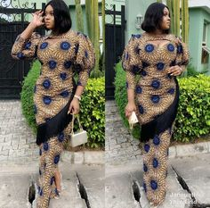 These are the most elegant ankara gown styles there are today, every lady who loves ankara gowns should see these ankara gown styles of 2019 African Fashion Ankara, Latest African Fashion Dresses, African Print Fashion, African Prints, African Outfits, African Men, African Attire, Ankara Long Gown Styles, Trendy Ankara Styles