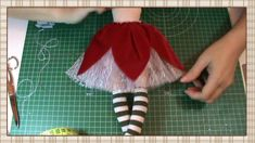 1 million+ Stunning Free Images to Use Anywhere Christmas Elf Doll, Christmas Ornaments To Make, Doll Clothes Patterns, Doll Patterns, Doll Videos, Softie Pattern, Sewing Dolls, Doll Tutorial, Fairy Dolls