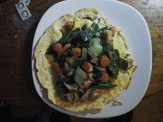 Omelet met snijbonen en kipfilet | | Goed en gezond eten