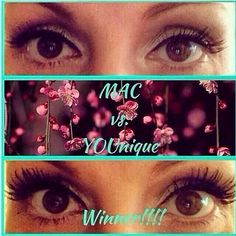 This show MAC (top photo) versus Younique 3D Fiber Lash Mascara (bottom). I'm pretty sure there is a clear winner here! What do you think? Click here to purchase your 3d fiber lash mascara: www.youniqueproducts.com/JessicaJordanMunn #younique #younique2015 #youniqueproducts #youniquejessicajm #youniqueopportunity #3DfiberLashes #3dFiberLashMascara #makeup #mascara #magicmascara #makeuplovers #instagood #follow #mineralmakeup