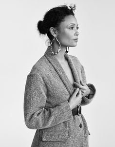 Smile: Thandie Newton in The Edit Magazine January 26th, 2017 by Hasse Nieslen