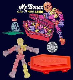 Bones Puzzle Candy 19 Foods From Your Childhood That You Might Have Forgotten About 90s Childhood, My Childhood Memories, Discontinued Food, Mr Bones, Vintage Candy, Vintage Food, 90s Nostalgia, 80s Kids, Ol Days