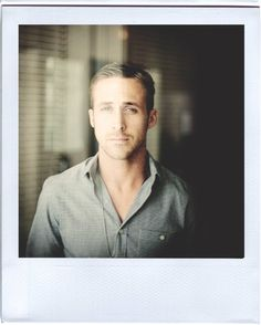 Ryan Gosling - This man is made of dreams and rainbows