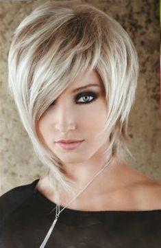 Fresh Hair Styles Short With Long Bangs Stylish Hair Styles 2016, Medium Hair Styles, Short Hair Styles, Medium Curly, Short Thin Hair, Short Hair Cuts, Straight Hair, Sassy Hair, Fresh Hair