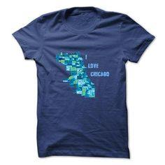 I Love Chicago - #inexpensive gift #gift for kids. ORDER HERE => https://www.sunfrog.com/States/I-Love-Chicago-3987261-Guys.html?68278