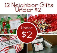 Under $2! Twelve Neighbor Gifts Under $2
