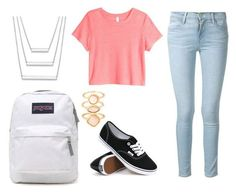 Cropped Top with Vans Cute Outfits for School, check it out at https://youresopretty.com/cute-outfits-for-school