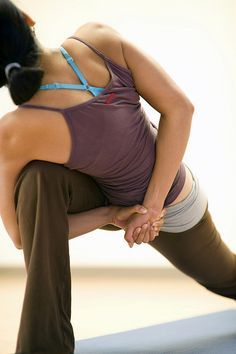 Yoga : Some stretching exercises for beginners