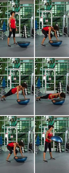 5 full body BOSU exercises loved by master trainers