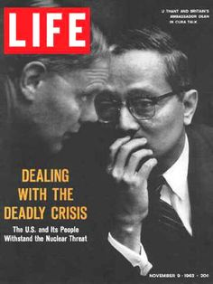 Life Magazine Cover Copyright 1962 Negotiators In Cuba