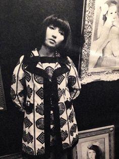 Kuroyanagi Tetsuko 黒柳徹子, Japanese children's book author, actress and talk show host - Japan - 1968
