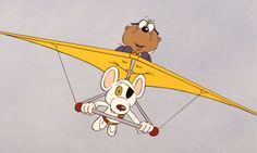 'As funny now as it was in the 80s' … Danger Mouse and Penfold