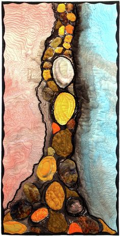 Lisa Evans,  Stones in a fissure