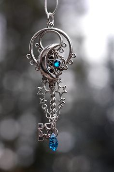 Galaxy Key Necklace. $47.00, via Etsy.