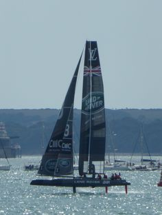 Land Rover BAR, 35th America's Cup World Series, Portsmouth (Photo: WendyJames ~ July 2015)