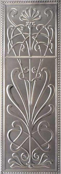 Waratah Dado Pressed Metal Wall Panel | Wunderlite Pressed Metal Panels