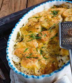 stuttgartcooking: Blumenkohl-Kartoffel-Auflauf mit Käse überbacken