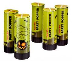 Halloween Party Poppers from Poundland Halloween Party Decor, Spooky Halloween, Baby Halloween, Oogie Boogie Man, Party Poppers, Centre Pieces, Nightmare Before Christmas, Table Centerpieces, Balloons