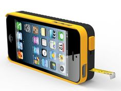 DeWalt iPhone case with measuring tape