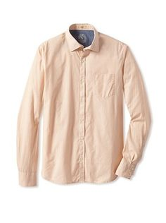 60% OFF Rose Pistol Men's La Jolla Microchecked Shirt
