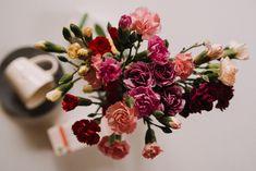 Tee trifft Blumen