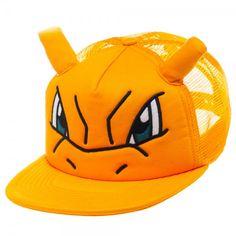 #transformer ko pokemon: charizard big face trucker hat [cap, hat, headwear]
