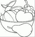 Dibujos de FRUTAS y verduras para colorear - Betiana 1 - Album Web Picasa