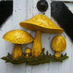 Mushroom Wall Hanging  everyone decorated with mushrooms