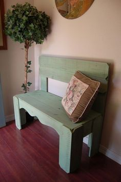 Farmhouse Bench. Repurposed Wood Bench. CHOOSE by TRUECONNECTION, $399.00