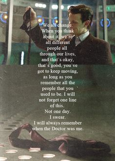 This was one of the most beautiful, saddest moments of Eleven's time #doctorwho