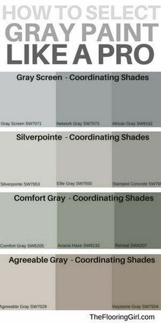 how to choose the best shades of gray for your walls