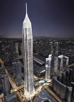 China's tallest skyscraper - Shenzhen - Ping An International Finance Centre