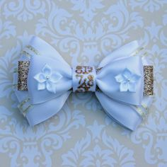 it's a small world Attraction Inspired Bow by SmallWorldBows, $9.00